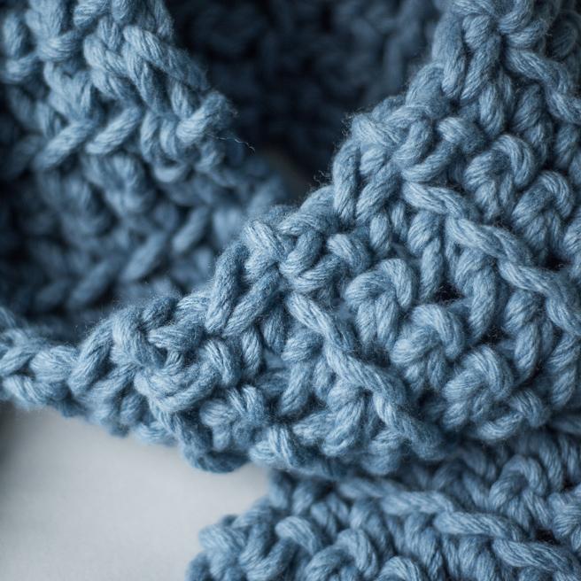 Bliss Scarf - Chunky Crochet Scarf - Free Crochet Pattern | Homelea Lass