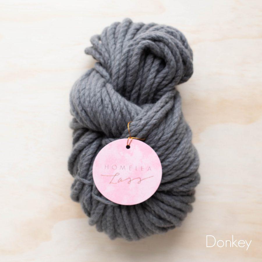 Donkey Homelea Bliss 300g Chunky Yarn Australian Merino Wool | Homelea Lass