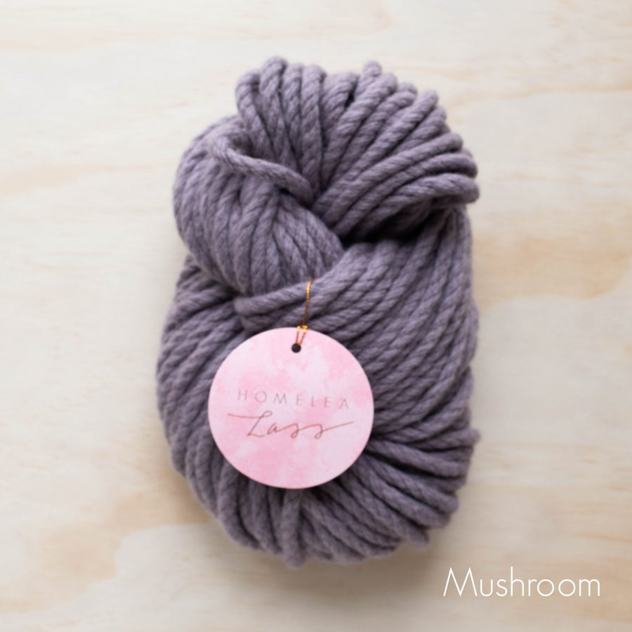 Mushroom Homelea Bliss 300g Chunky Yarn Australian Merino Wool | Homelea Lass