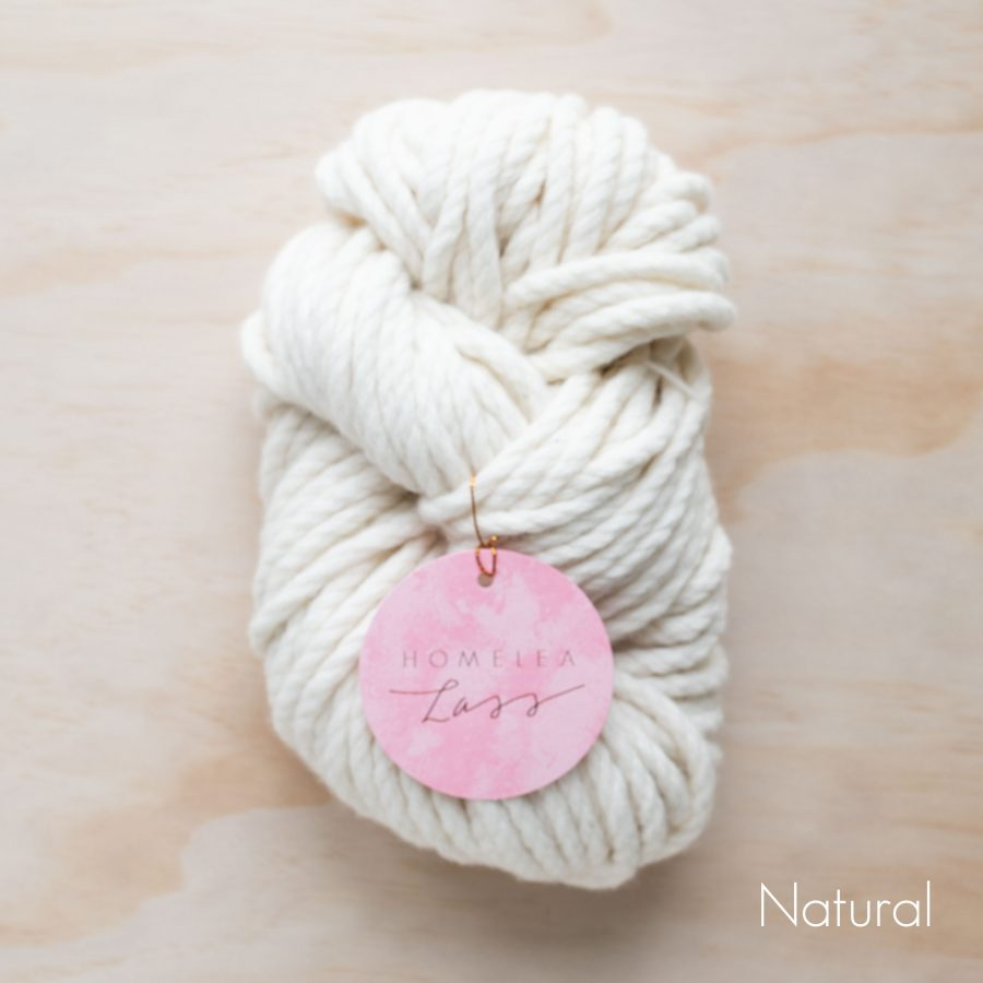 Natural Homelea Bliss 300g Chunky Yarn Australian Merino Wool | Homelea Lass