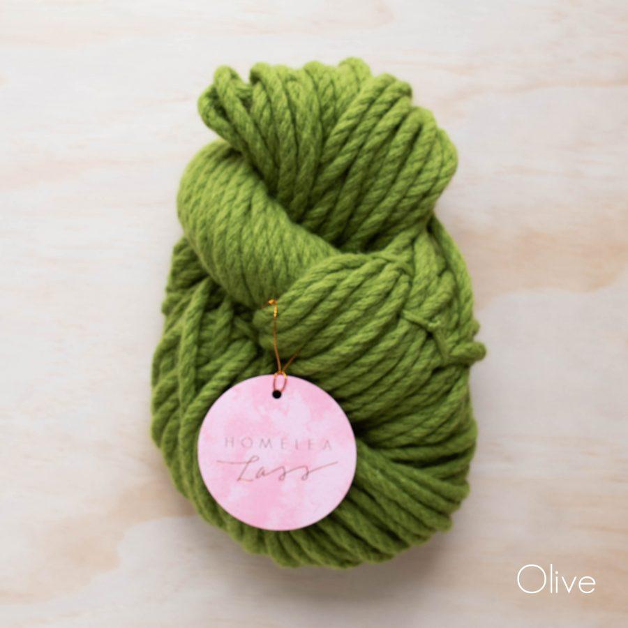 Olive Homelea Bliss 300g Chunky Yarn Australian Merino Wool | Homelea Lass