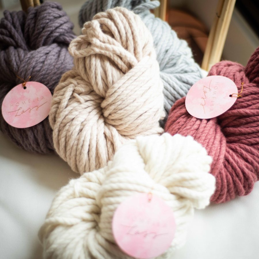 Homelea Bliss Australian Merino Wool Chunky Yarn | Homelea Lass