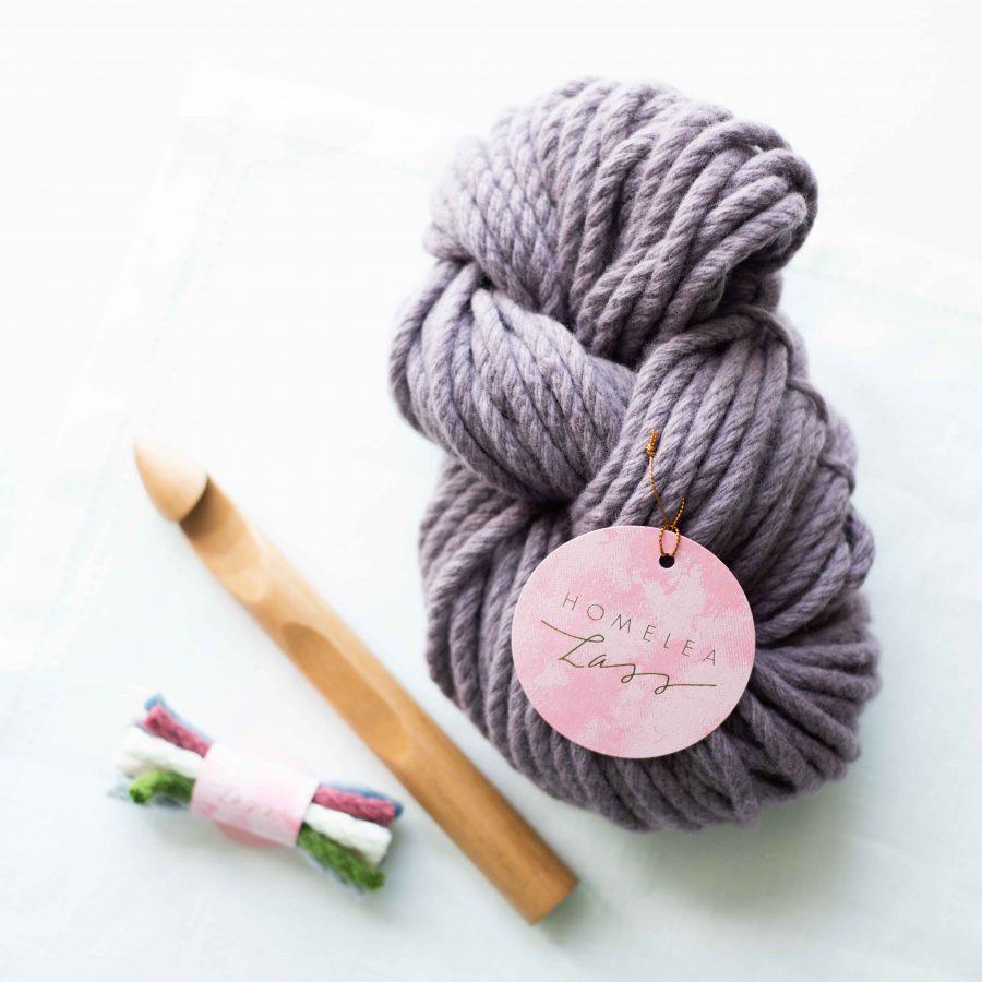 Chunky Crochet Starter Bundle | Homelea Lass Contemporary Crochet