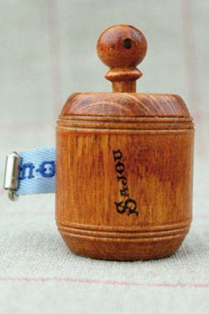 Sajou Wooden Tape Measure Blue | Homelea Lass