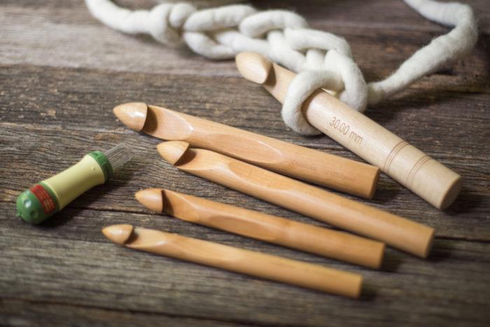 Set of Chunky Crochet Hooks | Homelea Lass