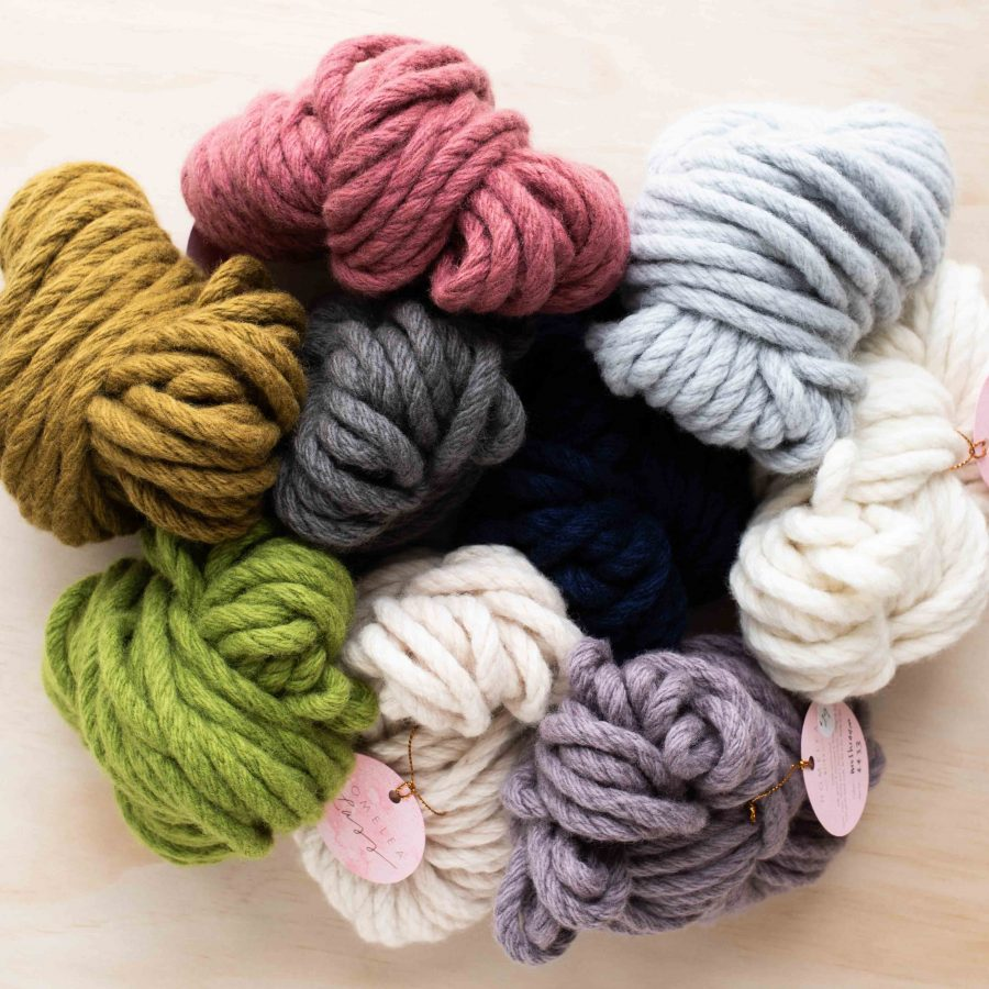 Homelea Bliss 100g Mini Skeins Chunky Australian Merino Wool Yarn | Homelea Lass