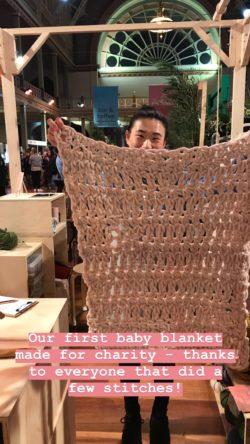 Baby Blanket for Australian charity #createlovegive | Homelea Lass