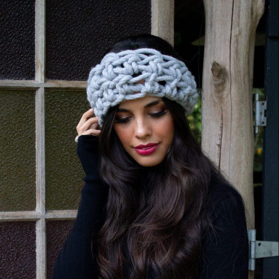 Spring Cowl Wool Headscarf | Homelea Lass