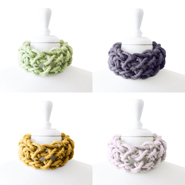 Spring Cowl Colours Australian Merino Wool | Homelea Lass