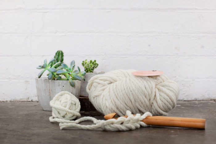 Chunky Crochet Starter Kit - the perfect gift for a creative lady | Homelea Lass