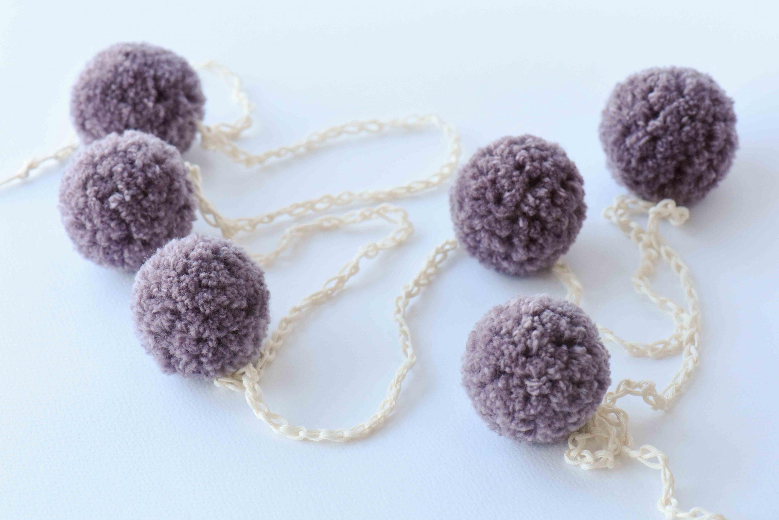 Merino wool pompom