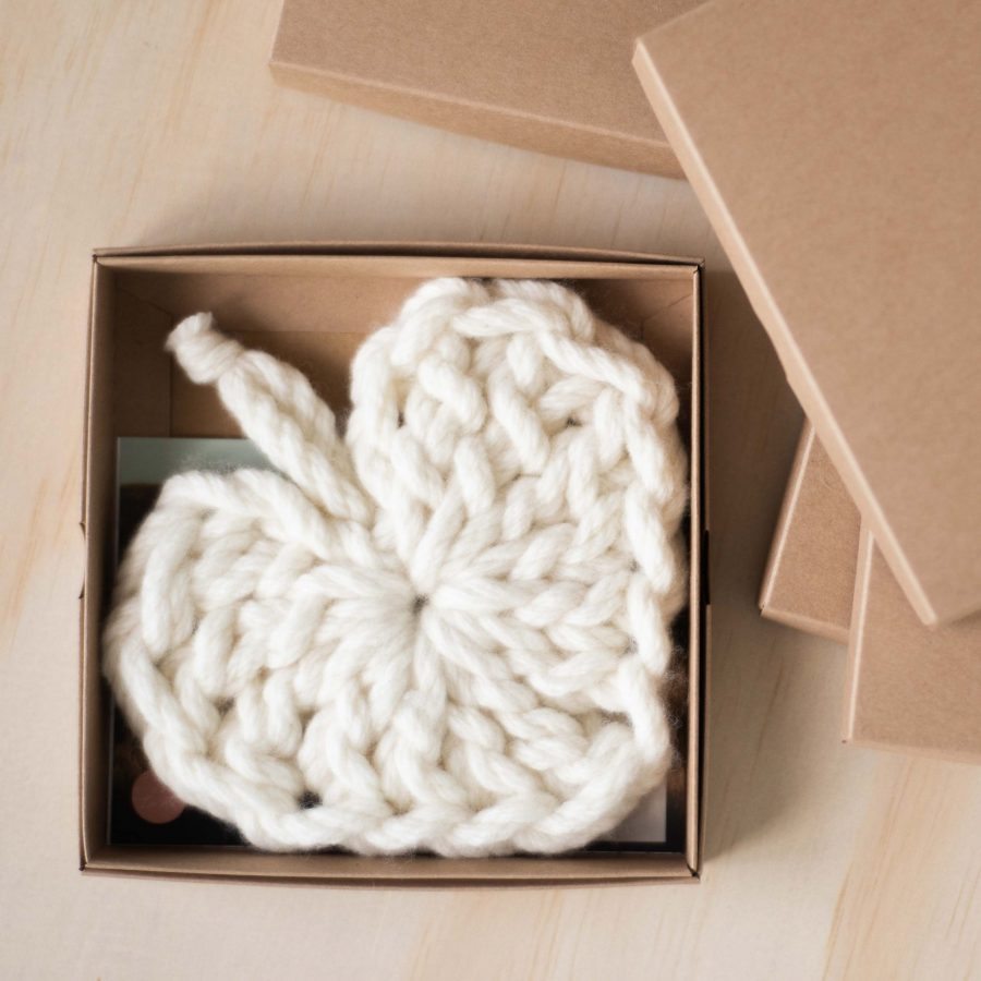 Boxes for Chunky Crochet Hearts | Homelea Lass