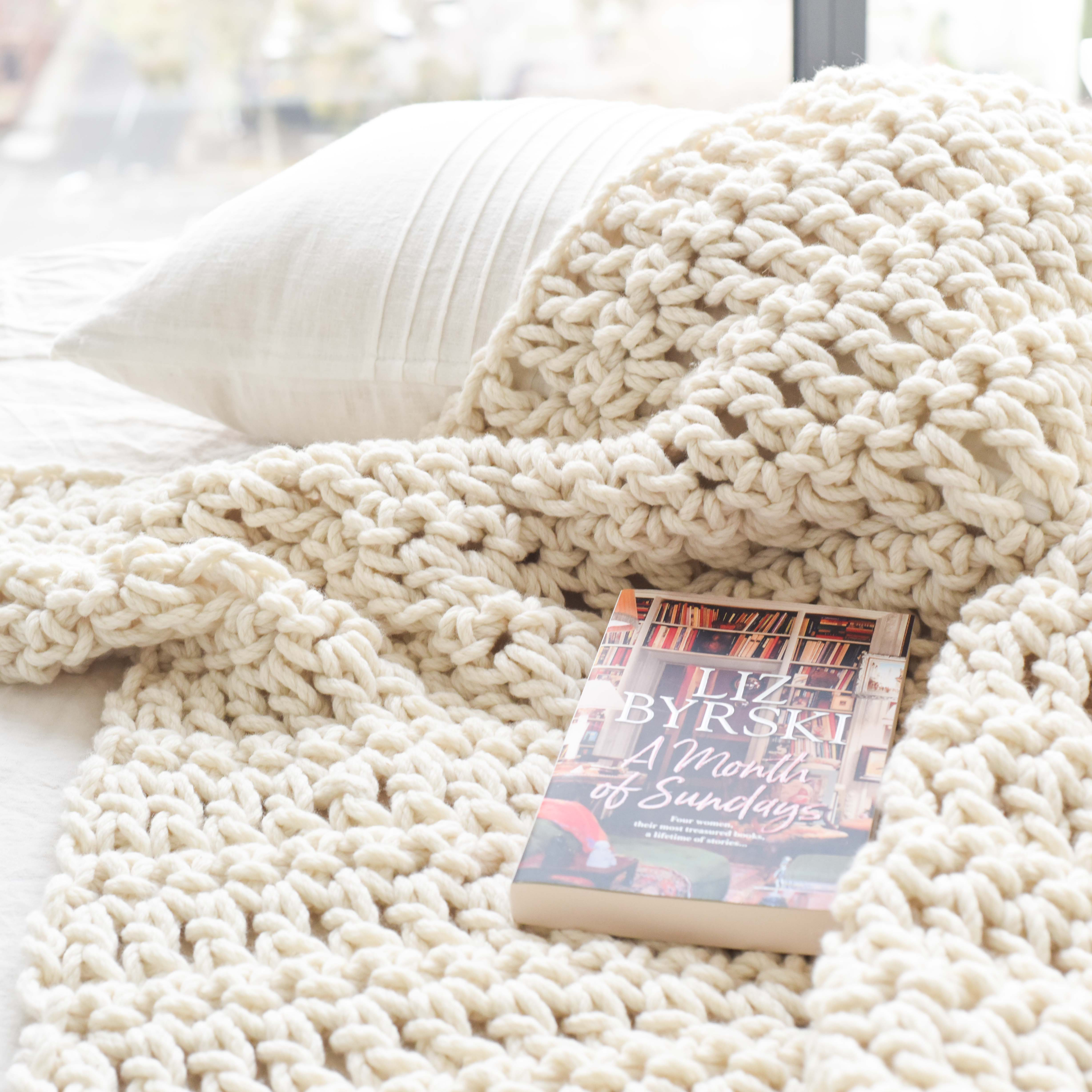 Warm Heart Blanket – Chunky Blanket Crochet Pattern | Homelea Lass Contemporary Crochet