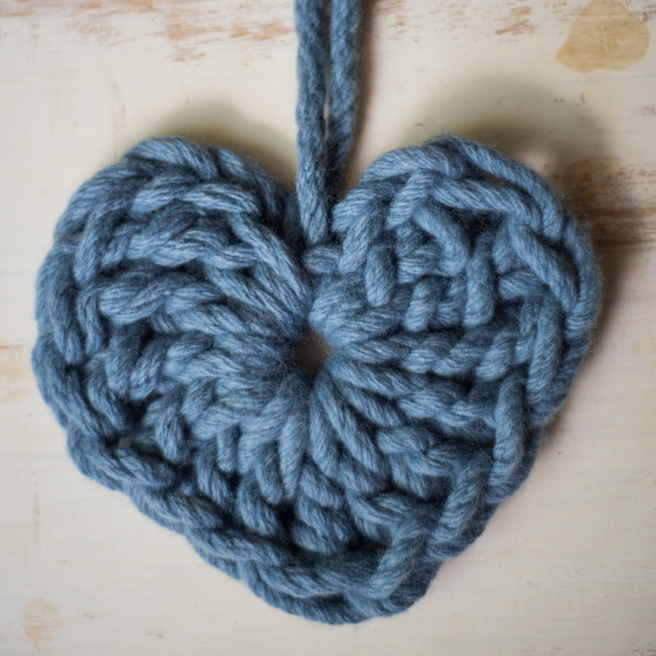 Free Heart Crochet Pattern and Video Tutorial | Homelea Lass Contemporary Crochet