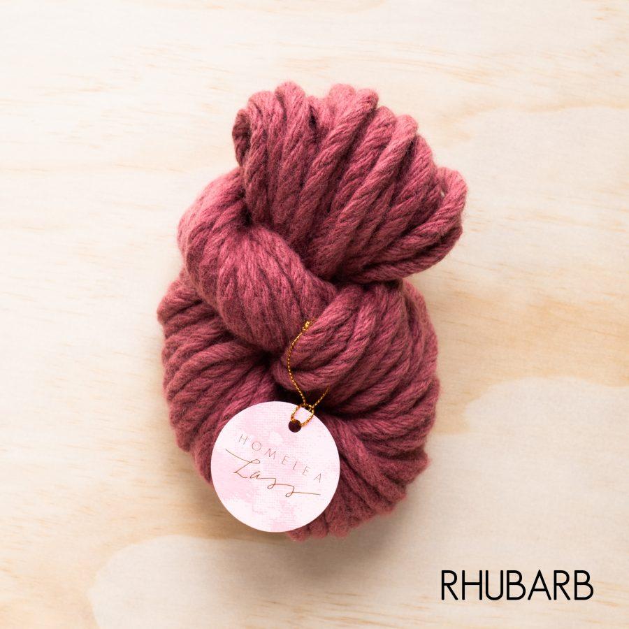 Rhubarb Homelea Bliss yarn - Australian Merino wool | Homelea Lass