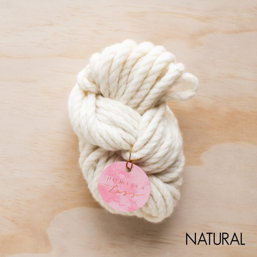 Natural Homelea Bliss yarn - Australian Merino wool | Homelea Lass