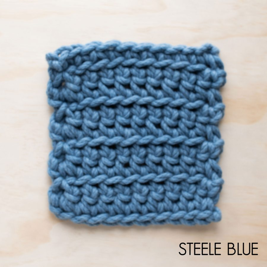Steele Blue Homelea Bliss yarn - Australian Merino wool | Homelea Lass