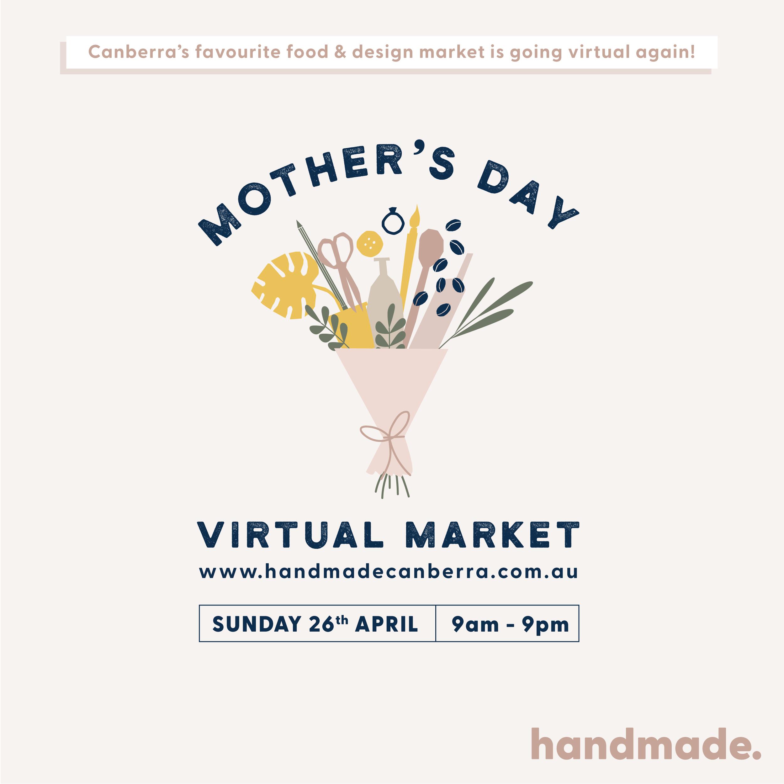 Handmade Canberra Mother's Day Virtual Market | Homelea Lass Contemporary Crochet