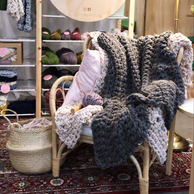 Handmade Canberra Winter Virtual Market | Homelea Lass Contemporary Crochet