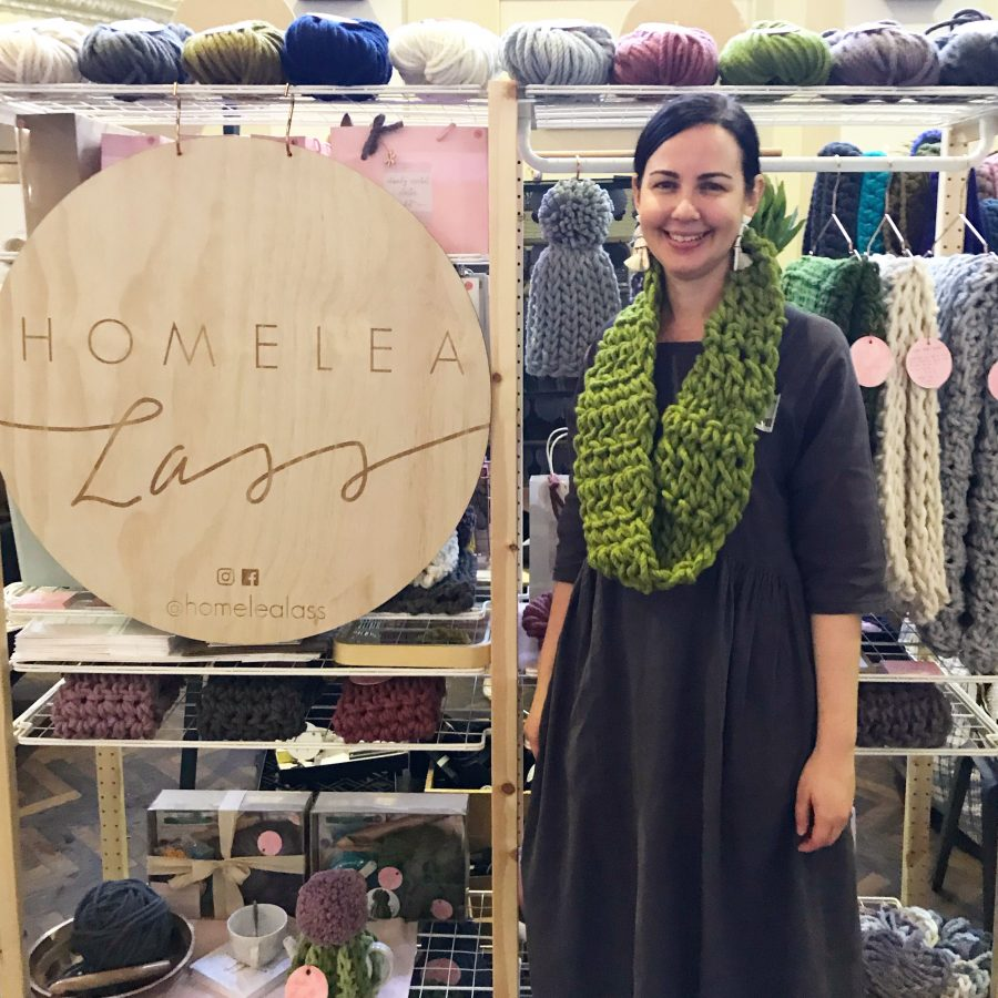 Handmade Canberra Winter Virtual Market | Homelea Lass Contemporary Crochet