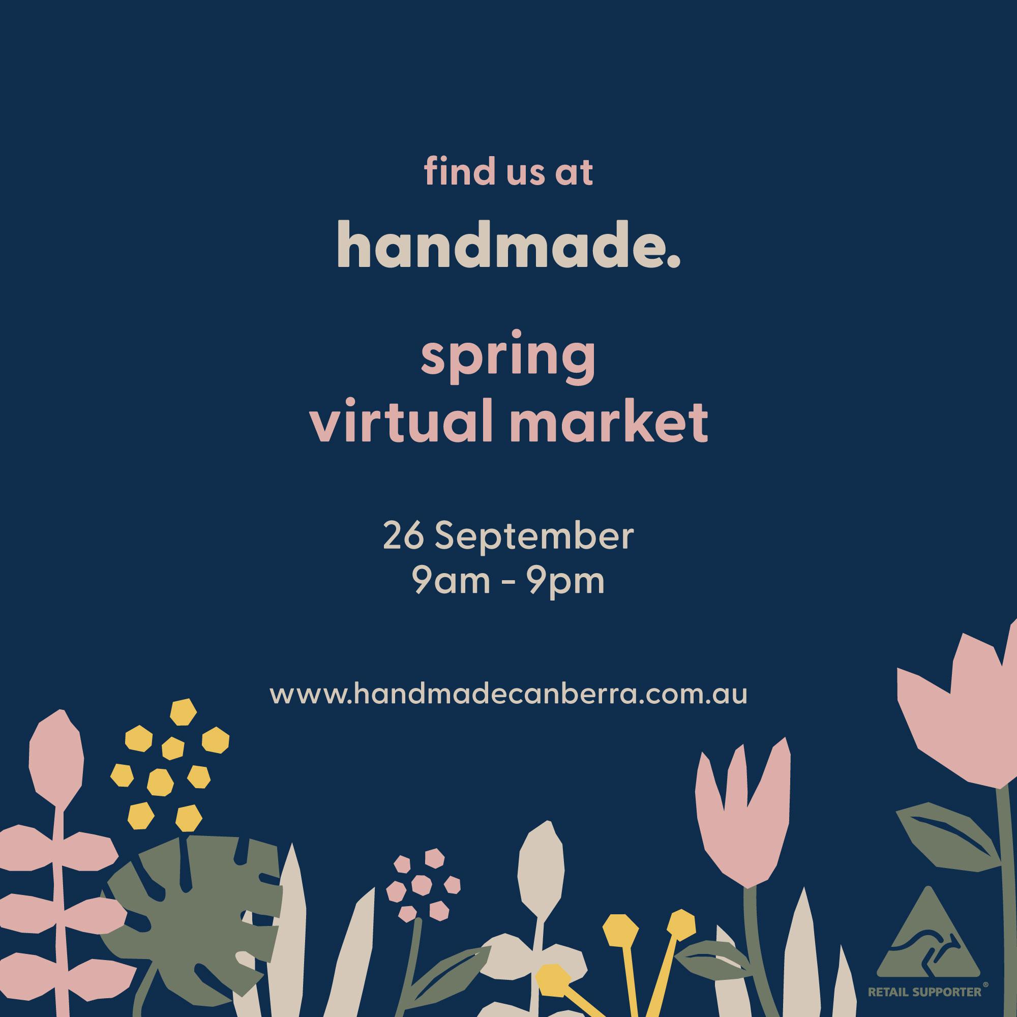 Handmade Canberra Spring Virtual Market 2020 | Homelea Lass Contemporary Crochet