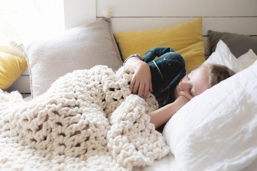 Warm Heart Blanket - chunky knit blanket - Australian merino wool | Homelea Lass