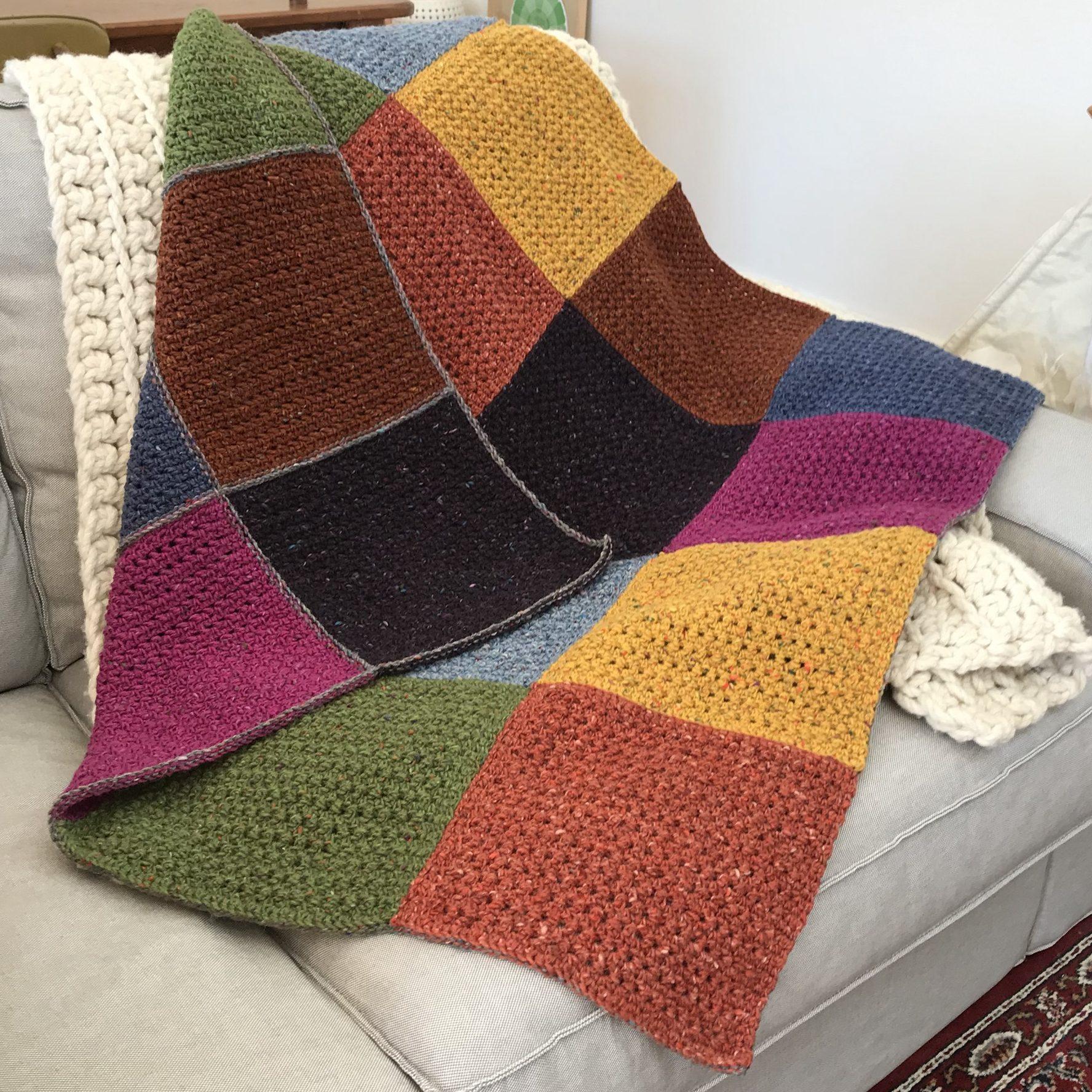 Colour Exploration Blanket Crochet Pattern | Homelea Lass