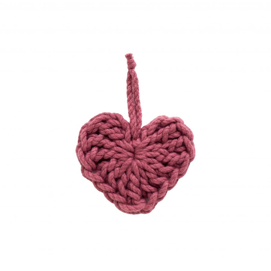 Chunky Crochet Heart | Homelea Lass Contemporary Crochet